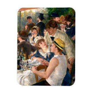 Alumerzo francés de Renoir en el fiesta del Imanes