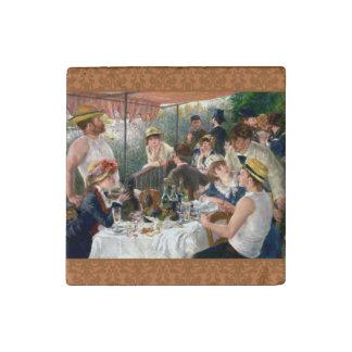 Alumerzo francés de Renoir en el fiesta del Imán De Piedra