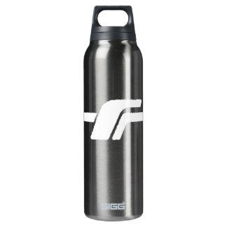 """Aluminio blanco del logotipo de """"F"""""""