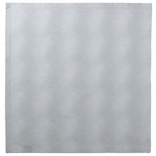 Aluminio brillante servilleta
