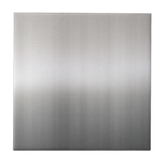 Aluminio cepillado con clase azulejo cuadrado pequeño