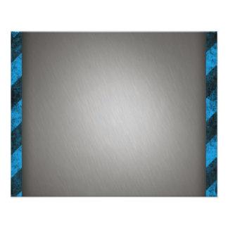 Aluminio cepillado plata rayada impresiones fotograficas
