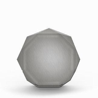 Aluminio cepillado plata rayada