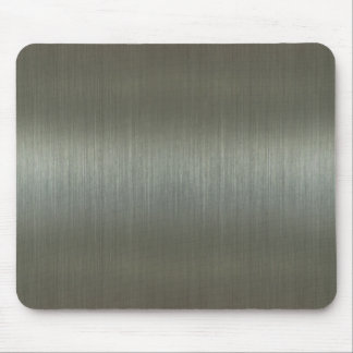 Aluminio cepillado alfombrilla de raton
