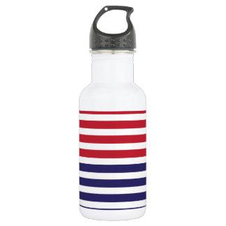 Aluminio de la bandera americana botella de agua de acero inoxidable