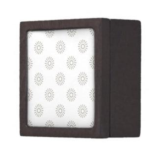 Aluminio del estampado de plores 6 cajas de regalo de calidad