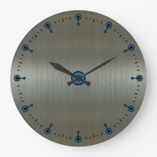 Aluminio Relojes De Pared