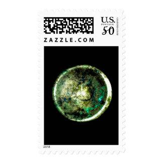 """""""Alumino Luna"""" JTG Art Postage Stamp"""