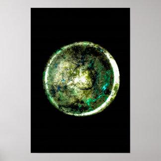 """""""Alumino Luna"""" JTG Art Poster"""
