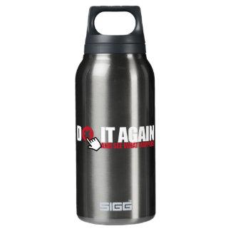 Aluminum 16 oz thermos bottle