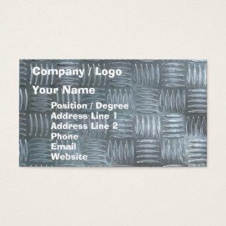 Aluminum anti-slip sheet business card