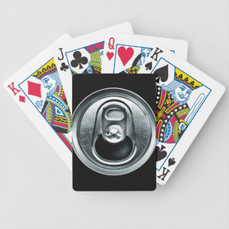 Aluminum Can Top Playing Cards