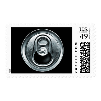 Aluminum Can Top Postage Stamps