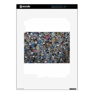 Aluminum Cans Being Recycled iPad 2 Decal