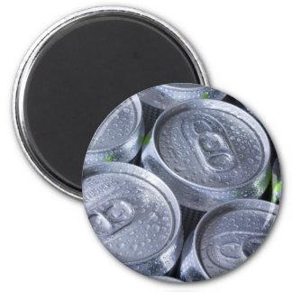Aluminum cans magnet
