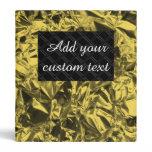 gold, yellow, black, crinkled, aluminum, foil,