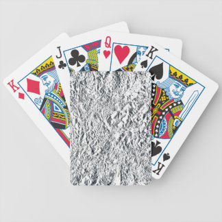 Aluminum Foil Playing Cards