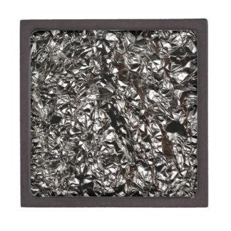 Aluminum Foil Print Jewelry Box