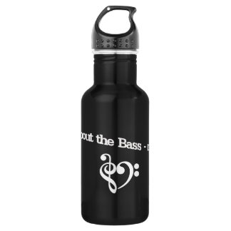 Aluminum for those who love the Bass 18oz Water Bottle