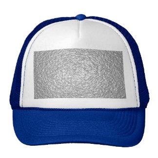 Aluminum illusion pattern by Valxart Trucker Hat