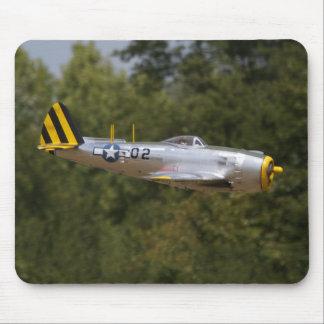 Aluminum P-47 Thunderbolt Mousepad