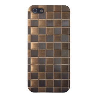 Aluminum  Tile Pattern iPhone4 Case Cover iphone 4 iPhone 5 Case