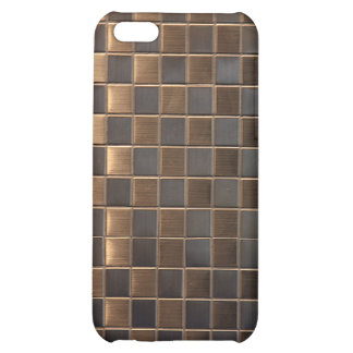 Aluminum  Tile Pattern iPhone4 Case Cover iphone 4 Case For iPhone 5C