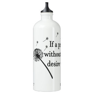 Aluminum Water Bottle Wish Without Worry