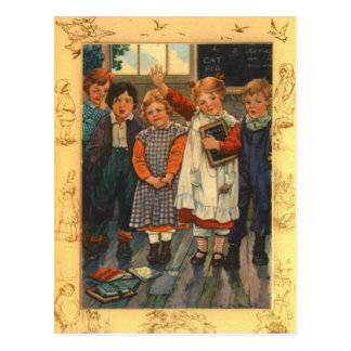 Alumno de la estrella tarjetas postales