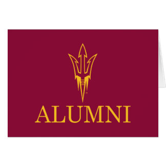Alumnos de la universidad de estado de Arizona Tarjeta De Felicitación