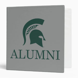 Alumnos de la universidad de estado de Michigan Carpeta 1 1/2""