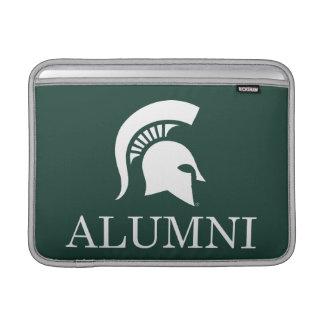 Alumnos de la universidad de estado de Michigan Fundas Macbook Air