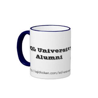 Alumnos de la universidad del SQL (DE LUJO) Tazas De Café