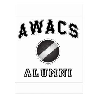Alumnos del AWACS Tarjetas Postales