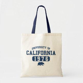 Alumnos del oso de Uc Berkeley azules Bolsas De Mano