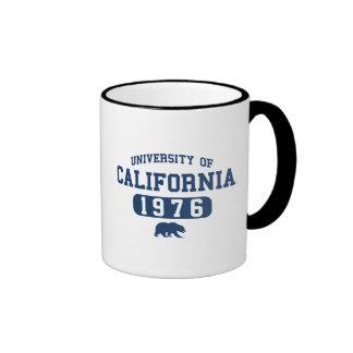 Alumnos del oso de Uc Berkeley azules Taza A Dos Colores