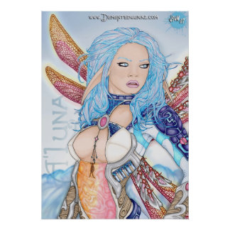 "A'Luna ""Fae Maiden"" Poster"