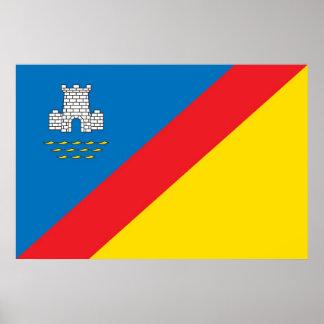 Alushta City COA, Crimea, Ukraine Print