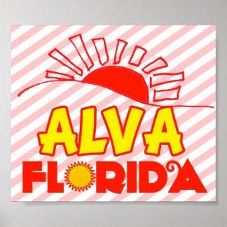 Alva, Florida Poster