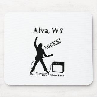 Alva, WY Mousepads