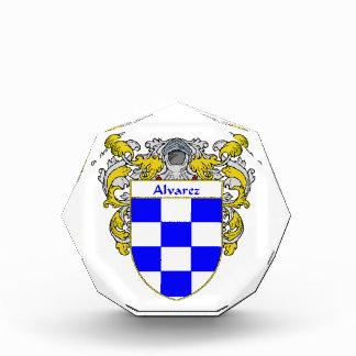 Alvarez Coat of Arms Family Crest Award