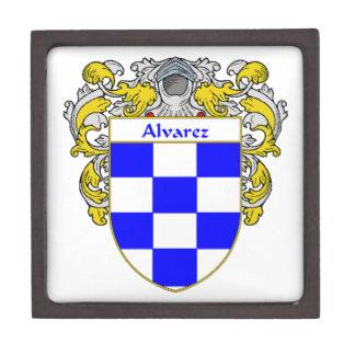 Alvarez Coat of Arms/Family Crest Keepsake Box