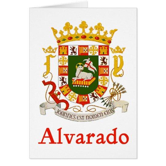 Alverado Shield of Puerto Rico Card