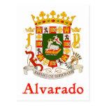 Alverado Shield of Puerto Rico Postcard