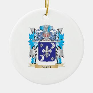 Alvey Coat Of Arms Christmas Ornaments
