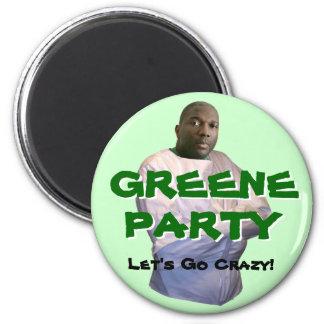Alvin Greene:  Let's Go Crazy! 2 Inch Round Magnet