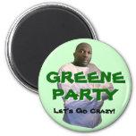 Alvin Greene:  ¡Vayamos locos! Iman Para Frigorífico