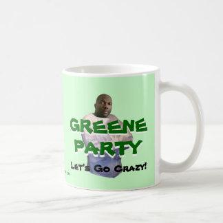 Alvin Greene: ¡Vayamos locos! Taza Básica Blanca