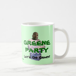 Alvin Greene: ¡Vayamos locos! Tazas