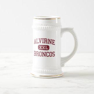 Alvirne - Broncos - High - Hudson New Hampshire Mug